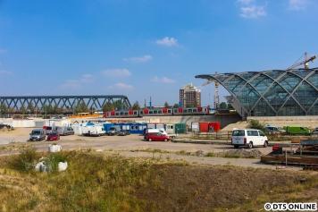 Anschließend ging es wieder zurück in den Bahnhof HafenCity, wo umgekuppelt wurde.