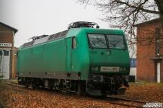 145 005 steht im BT Werk Hennigsdorf