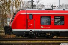490 101 steht abgestellt im BT Werk Hennigsdorf bei Berlin