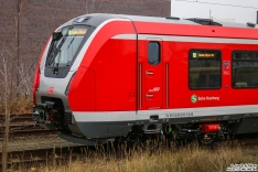 """Der Zug war beschildert als """"S1 Hamburg Airport"""""""