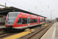 646 106 steht in Hennigsdorf bei Berlin bereit als RB55 nach Kremmen