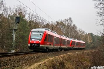 648 109 an der Verbindungskurve vom Berliner Außenring nach Hennigsdorf