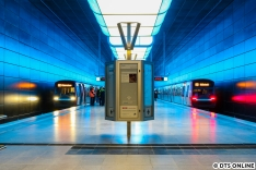 Am 6. Dezember wurde der Bahnhof Elbbrücken feierlich eröffnet. Während noch auf einzelne Fahrgäste gewartet werden musste, entstand dieses Bild aus sicherer Entfernung. Zugbegegnungen wird es künftig hier nicht mehr geben.
