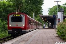 Im Sommer traf ich häufiger mal auf 472er auf der S1, so zB auf den 472 531 als S1 nach Wedel in Hoheneichen.