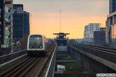 Der letzte Ausflug für dieses Jahr führte mich am 17. November nach Kopenhagen, wo ich diesen Metrozug fotografierte. Die Metro wird derzeit dort ausgebaut, eine neue Ringlinie soll bald in Betrieb gehen.