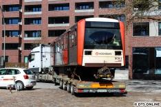 Auch in diesem Jahr gingen neun DT3 zur Verschrottung nach Lübeck, so auch 809 am 19. März. Damit sind nun 27 Fahrzeuge (3x 9) seit 2017 nach Lübeck gebracht worden.
