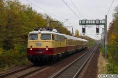 Am nächsten Morgen hielt ich die AKE E10 1309 in Berlin-Lichterfelde Ost fest.