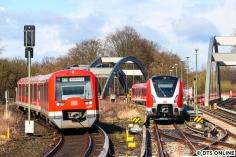 Dieses Bild soll die nächsten 15 Jahre prägen: Ein modernisierter Zug der BR 474 (noch mit altem FIS) und die BR 490.