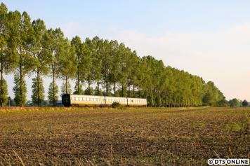 Ein Feld weiter wurde der letzte Eurocity des Tages nach Nykoebing festgehalten.