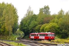 Für die Rückfahrt nach Oppendorf ging es ans Gleisdreieck, genauer an den BÜ Sieversdiek.