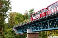 Das letzte geplante Motiv war die Schwentinentalbrücke. Da ich sehr rechtzeitg da war, sollte natürlich auch ein Nachschuss auf die RB zum Hauptbahnhof entstehen.