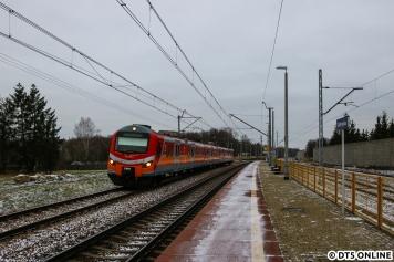 Und der Folgetakt von PolRegio nach Terespol im nahegelegenen Bahnhof Dobrynka.
