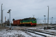Zwischen Malaszewicze und Terespol hielten wir diese M62 mit Grenzlast fest.