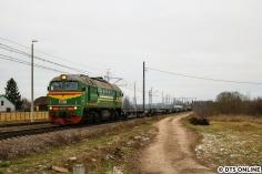 Es folgte eine M62 mit einem leeren Zug in Richtung Brest.