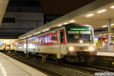 Weiter ging es nach Altona, um dieses Sylt Shuttle zu fotografieren. Eine Fahrt in der Nacht wird von/nach Hamburg Altona geführt.