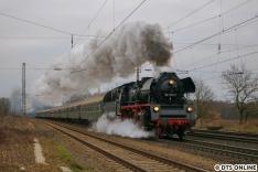 Nach einem Halt in Harburg und Uelzen entstand ein letztes Bild des Zuges um 7:56 Uhr in Klein Süstedt. Eigentlich schon Zeit fürs Mittagessen...