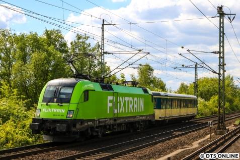 Ein letztes Bild entstand am Bahnhof Allermöhe.