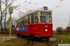 Ein weiteres Ziel war im März der Schönberger Strand, wo der Verfasser dieser Zeilen ein paar Runden mit der ehemaligen Hamburger Straßenbahn vom Typ V3 drehen durfte. Das war tatsächlich noch richtige Arbeit, vor allen Dingen das anhalten mit der Handbremse...