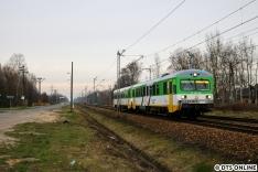 """Ziel war der als """"Schienenbus"""" markierte Zug von KM, welcher mit zwei VT 627 gefahren wurde."""